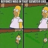 Beyoncé's Homer Moment