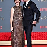 Claire Foy and Matt Smith Are the Cutest Duo During Their Promotion Tour For Season 2 of The Crown