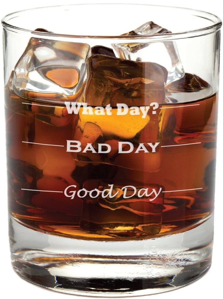 Frederick Engraving Good Day, Bad Day Glass