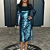 Salma Hayek at the Vanity Fair Oscars Afterparty 2020