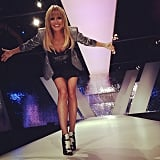 Heidi Klum celebrated the upcoming season of Germany's Next Topmodel. Source: Instagram user heidiklum