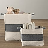 RH Baby & Child Vintage Canvas Storage ($26-$46)