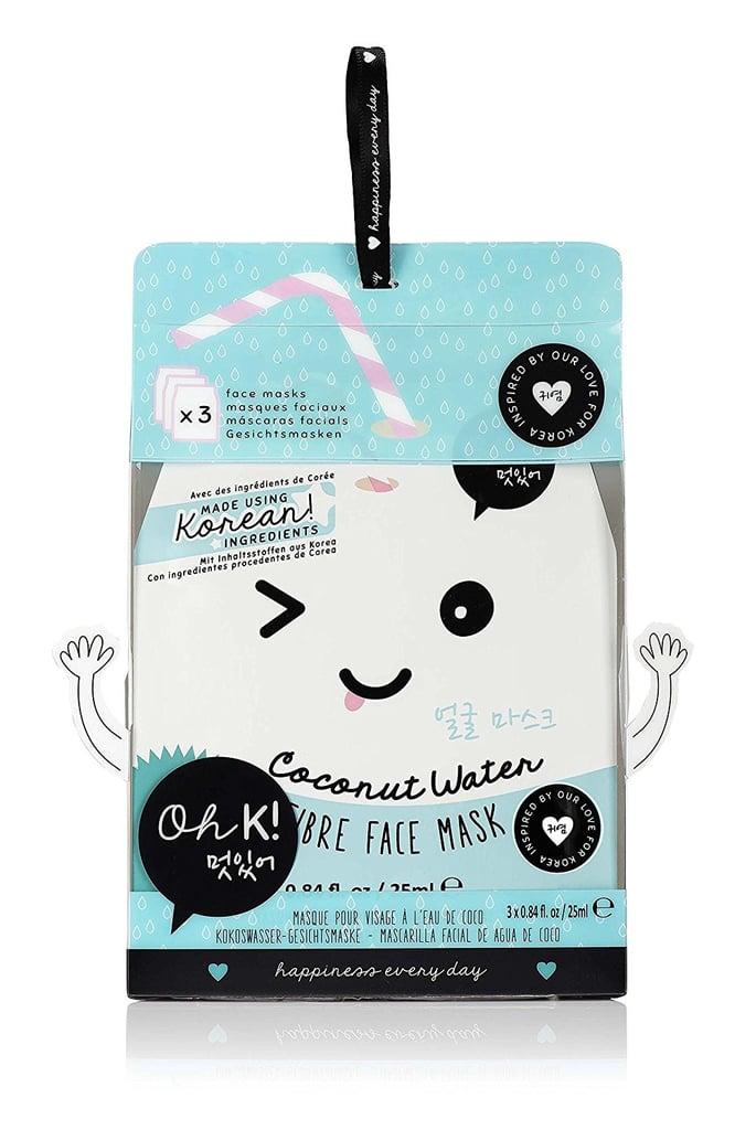 Oh K! Coconut Water Fiber Face Mask