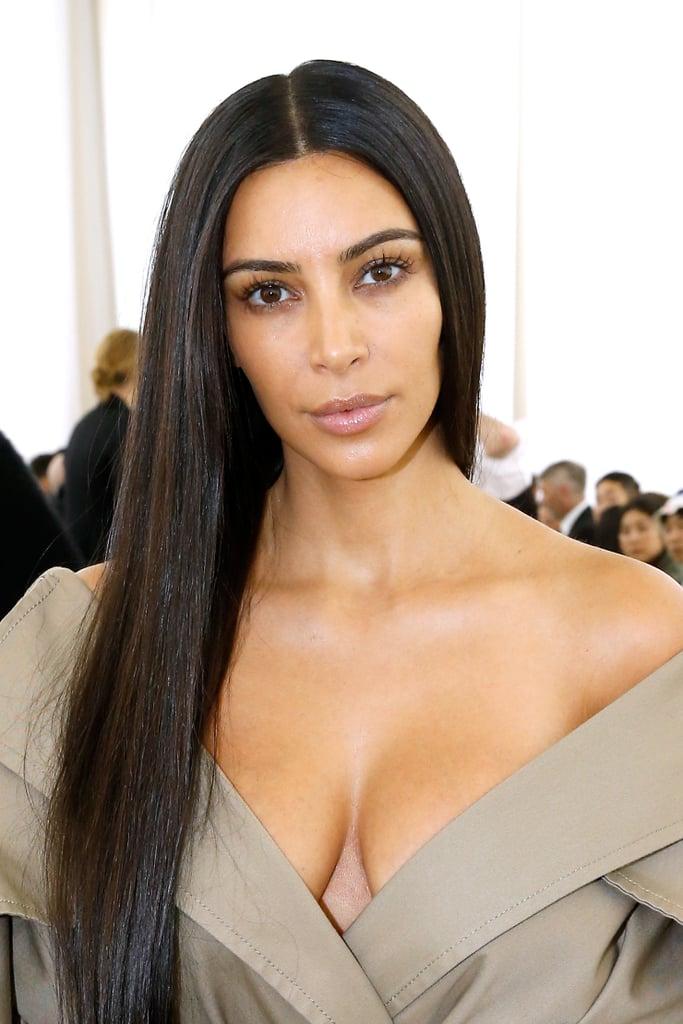 Kim Kardashian Without Makeup September 2016 Popsugar Beauty - Kim-k-without-makeup