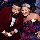 Pictured: DJ Khaled and Pink