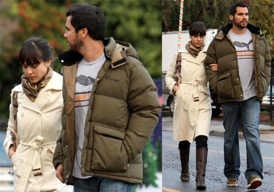 Photos of Jessica Alba and Cash Warren Christmas Tree Shopping in LA