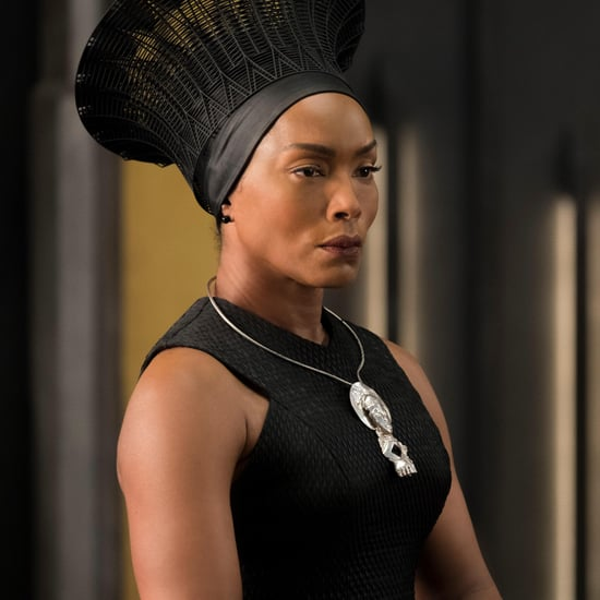 Angela Bassett's Hair in Black Panther