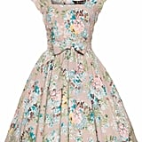 Lady Vintage Mushroom Floral Swing Dress (£33, originally £50)