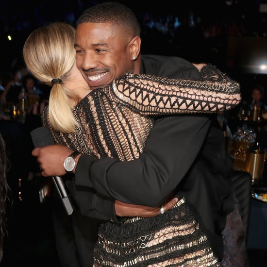 Michael B. Jordan and Kristen Bell MTV Movie and TV Awards