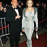 Jennifer Lopez's First Grammys Dress