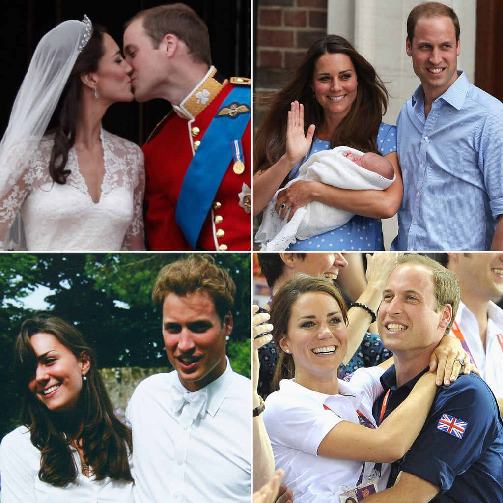 prince william and kate relationship history