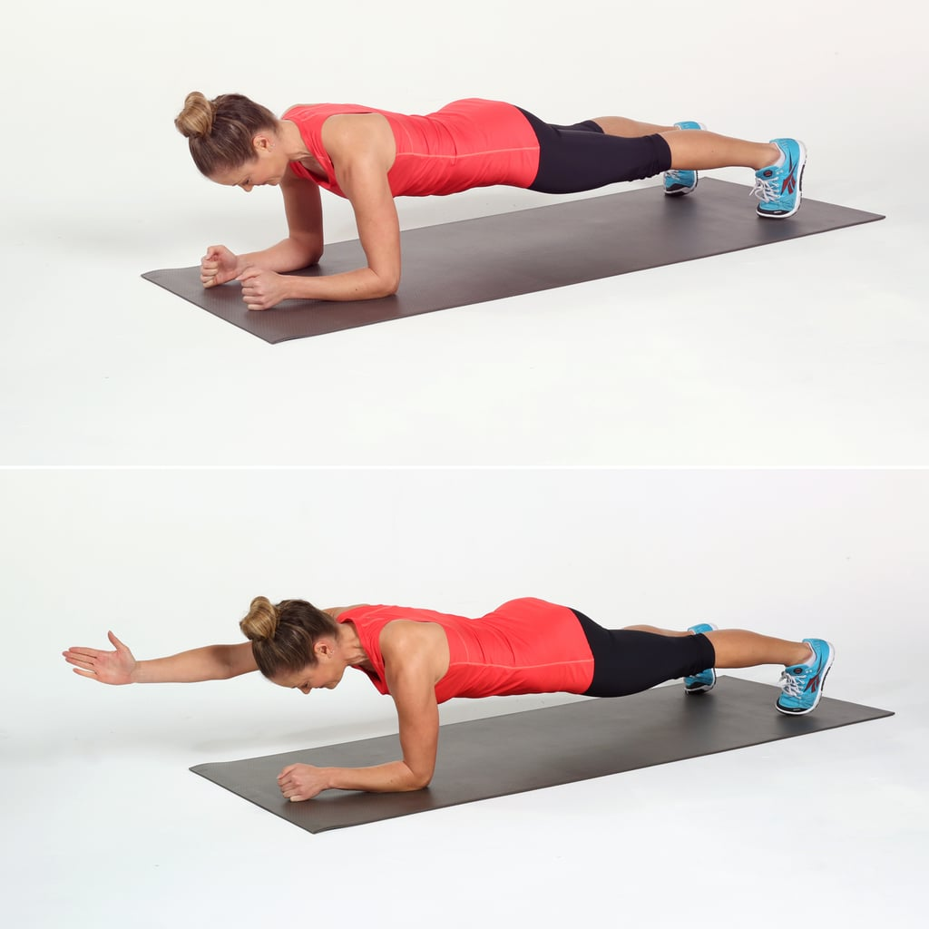 Core: Elbow Plank and Reach