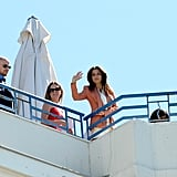 Eva Longoria had a photo shoot in Cannes.