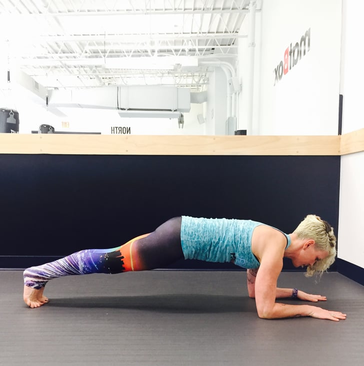 Zombie Plank: 12 Reps, 3 Sets