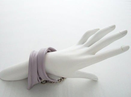 Must Have Bling of the Day: Dawn McKelvie's Sculpted Leather Cuffs