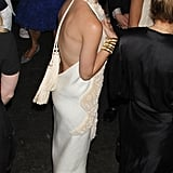 Ashley Olsen got showed off her back in a sexy The Row dress for the Fresh Air Fund's Spring Gala in NYC.