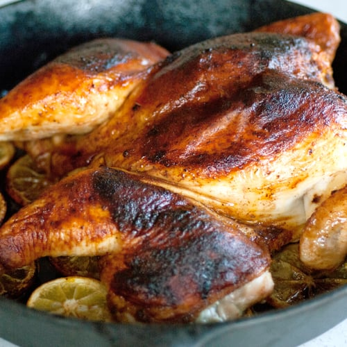 Smoky Lemon, Paprika Whole-Roasted Chicken
