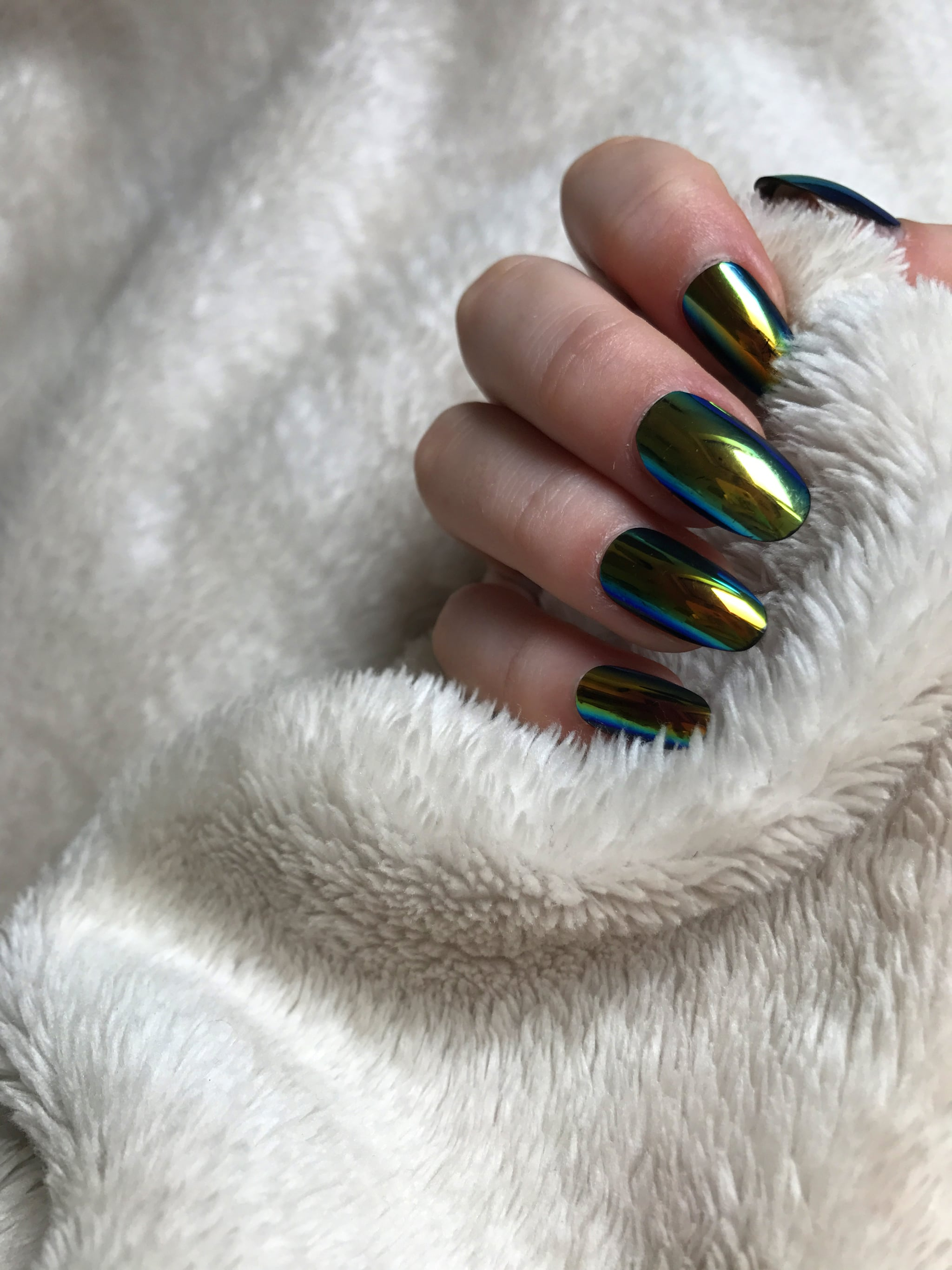 Elegant Touch Chrome Nails | POPSUGAR Beauty UK
