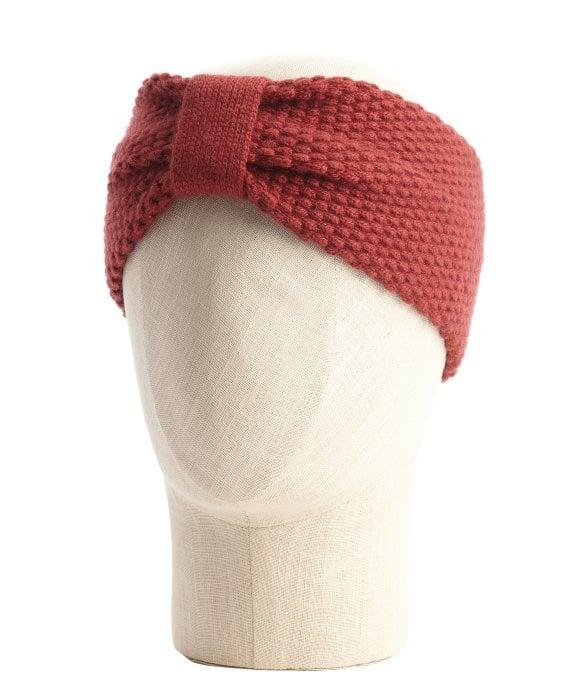 Bordeaux Knit Headband