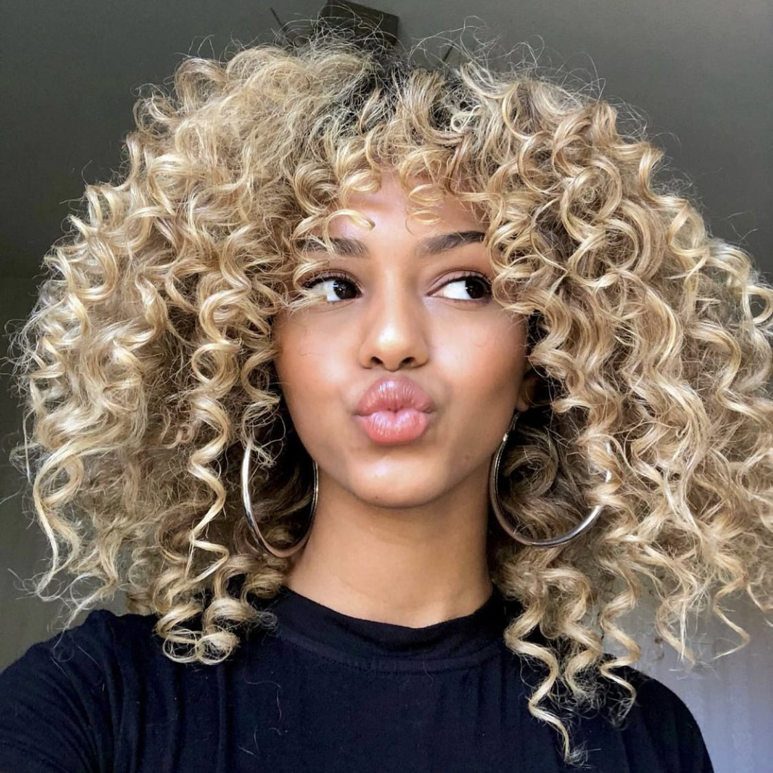 Curtain Bangs On Curly Hair Ideas Inspiration Popsugar Beauty