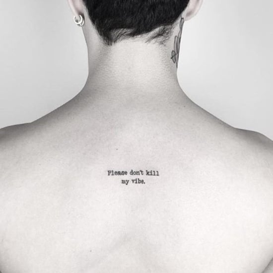 Small Back Tattoos