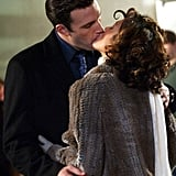 The pair showed major PDA as they filmed their movie Jersey Girl in November 2002.