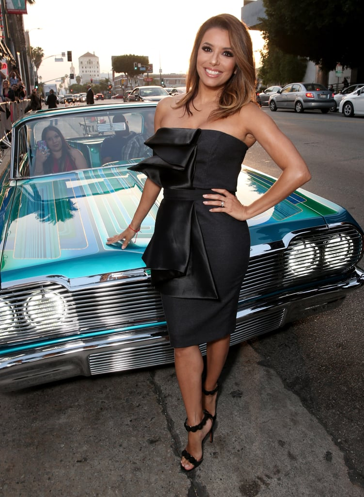 Eva Longoria at the Lowriders Premiere June 2016 ...