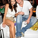 Jenna Dewan and Channing Tatum cosied up during the August 2008 Teen Choice Awards.