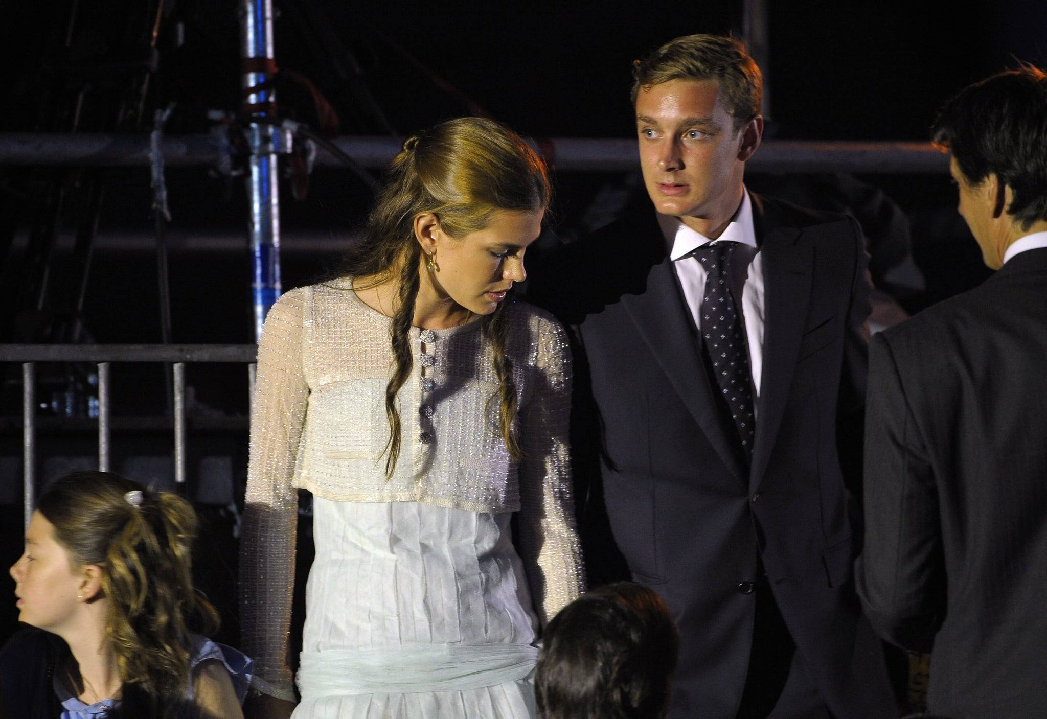 Andrea Prince Sex monaco's princess charlotte casiraghi joins her brother