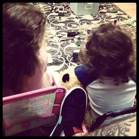 Celebrity Moms Instagram Pictures Week of July 15, 2012