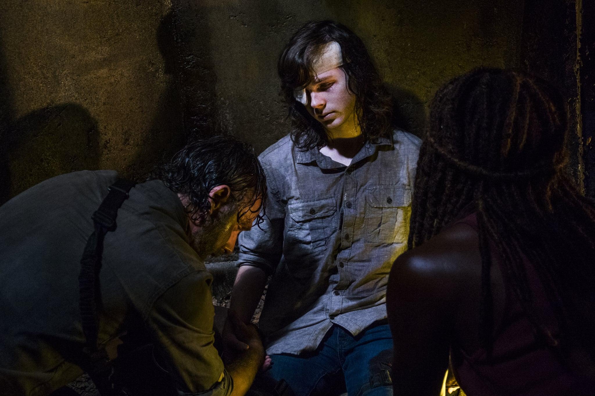 Walking Dead Carl Tot