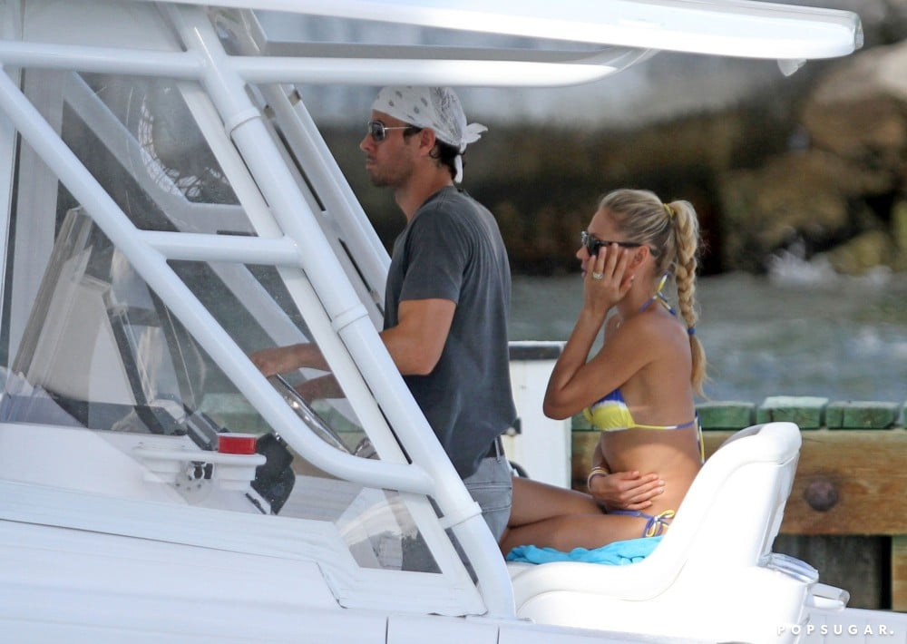 Anna Kournikova Sets Sail With Enrique and Gets Wistful About Wimbledon