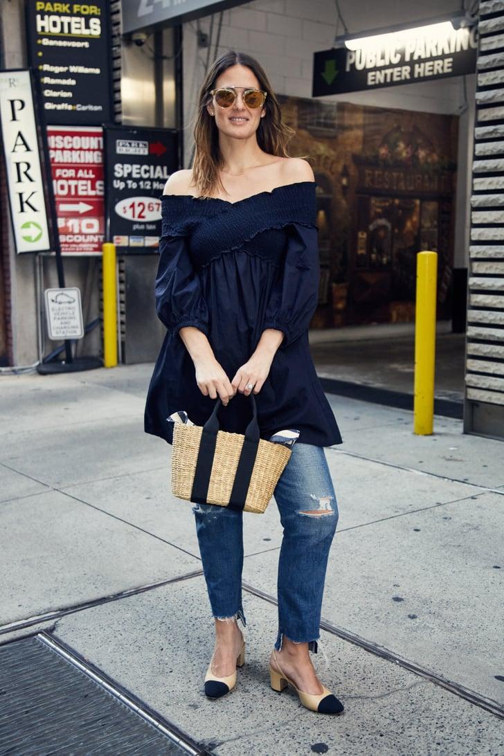 On Fashion Director Hannah Weil Mckinley Zara Top Citizens Of Fashion Week Editor Street