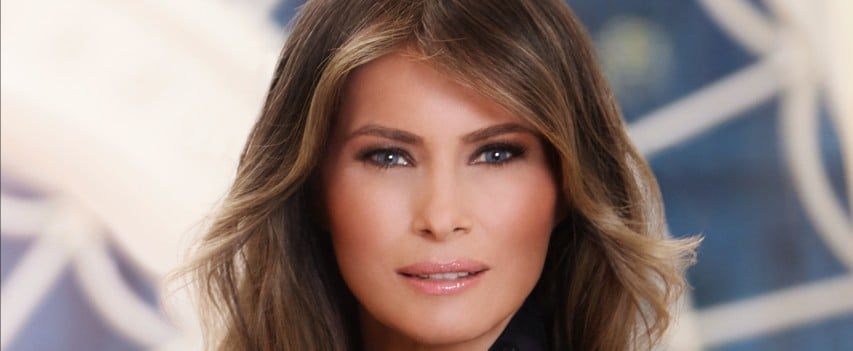 The Internet Is Having a Field Day With Melania Trump's First Lady Portrait