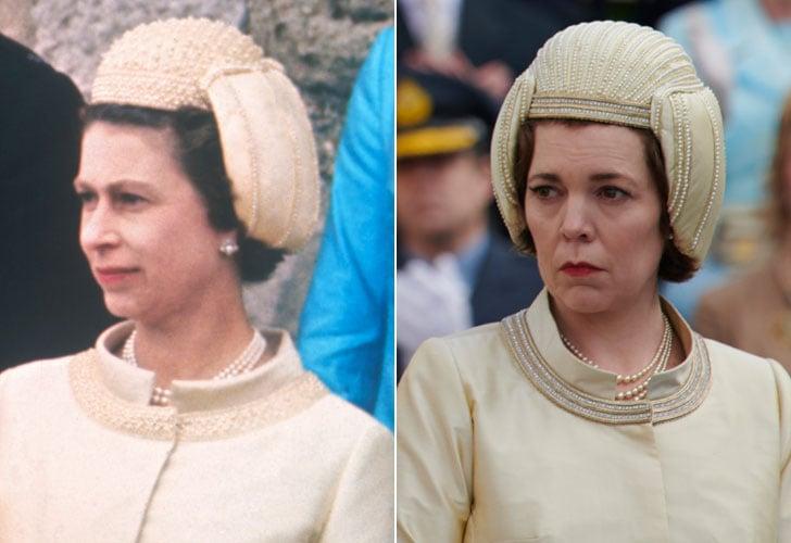 Queen Elizabeth II and Olivia Colman