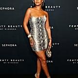 Rihanna's Atelier Versace Python Look