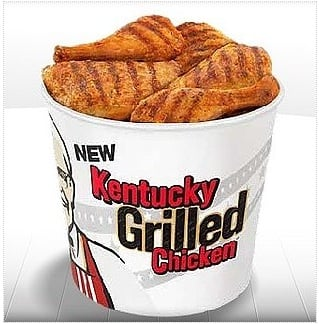 Free Kentucky Grilled Chicken From KFC