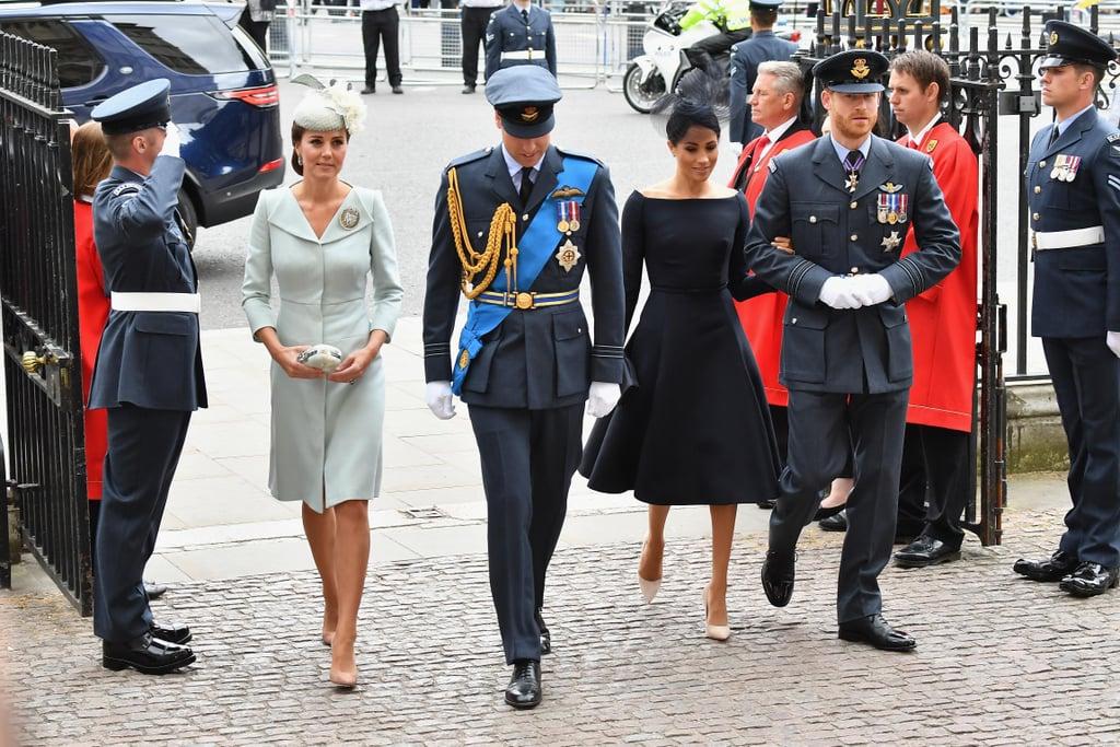 Kate Middleton's Beige Suede Heels