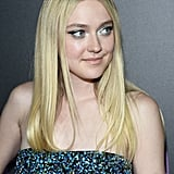 Dakota Fanning Does Glitter Roots Hair
