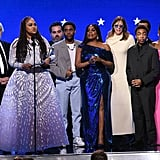 نجوم مسلسل When They See Us  في حفل توزيع جوائز اختيار النقاد لعام 2020