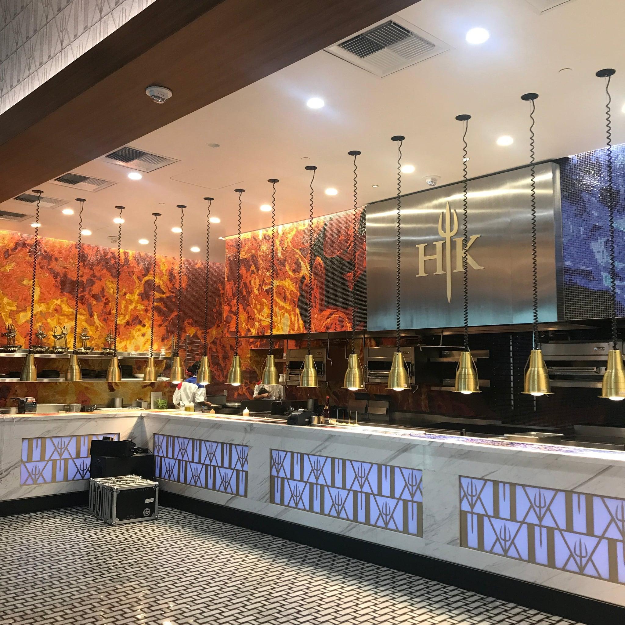 Gordon Ramsay Hells Kitchen Restaurant Las Vegas Review POPSUGAR Food