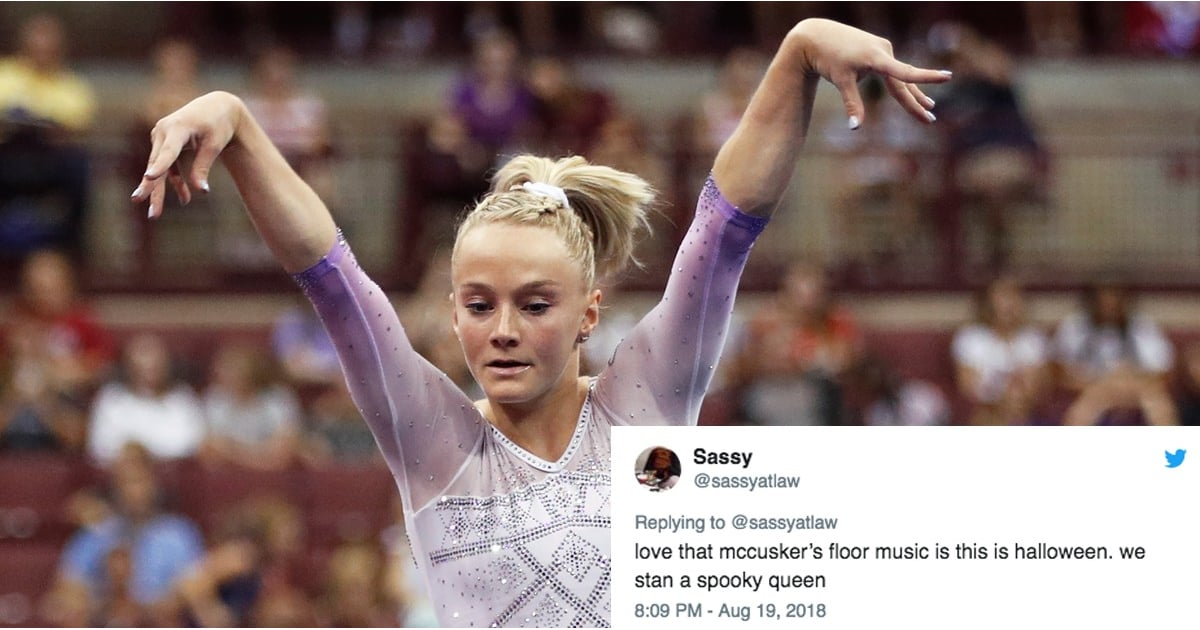 "This Gymnast's Routine Set to ""This Is Halloween"" Deserves Every Gold Medal on the Planet"