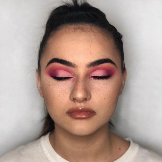 How to Wear Cherry Eye Shadow