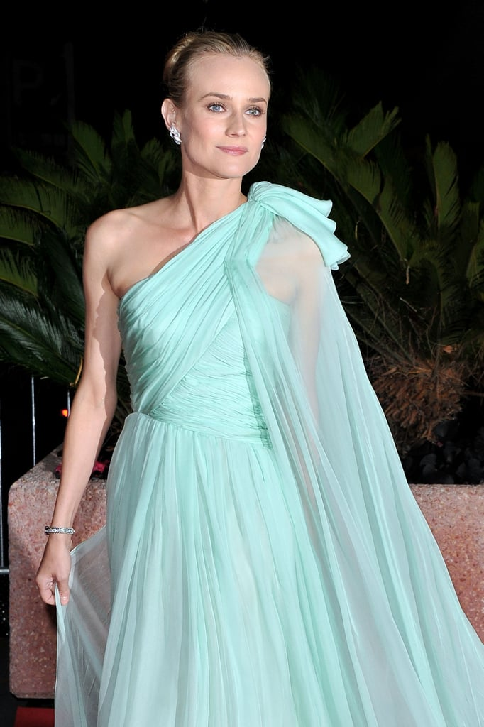 Diane Kruger looked elegant on her way into the opening night dinner at the Cannes Film Festival.