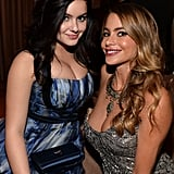 After the SAG Awards, Modern Family's Ariel Winter and Sofia Vergara linked up at The Weinstein Company and Netflix afterparty.