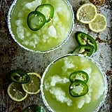 Frozen Jalapeño Lemonade Margarita