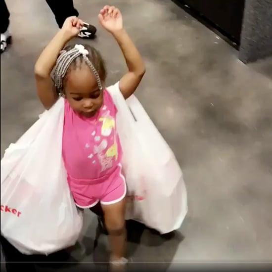 Shopping Bag Hack For Kids