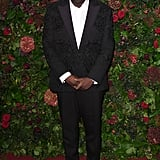 Edward Enninful at the 65th Evening Standard Theatre Awards