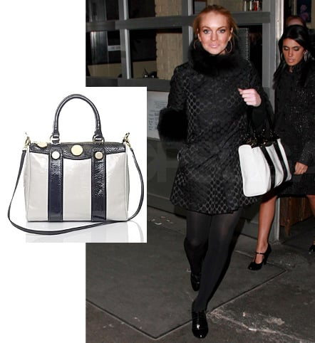 Step Right Up, It's Your Turn to Win This Jill Stuart Sabrina Bag!