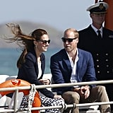 Prince William and Kate Middleton at the Eden Project 2016